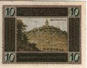 10 Pfennig (Kahla) – reverse