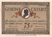 75 Pfennig (Tiefurt) – obverse