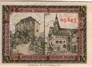 10 Pfennig (Orlamünde) – reverse