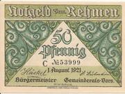 50 Pfennig (Rehmen) -  obverse