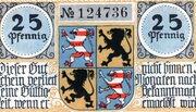 25 Pfennig (Hildburghausen) – obverse