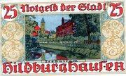 25 Pfennig (Hildburghausen) – reverse
