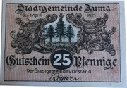 25 Pfennig (Auma) -  obverse