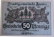 50 Pfennig (Auma) -  obverse