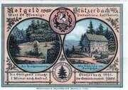50 Pfennig (Stützerbach weimarischer Anteil; Goethe Series) -  obverse
