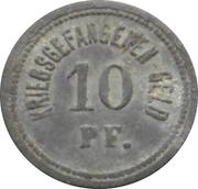 10 Pfennig - Ingolstadt (Kriegsgefangenenlager) – reverse
