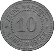 10 Pfennig - Langendreer (Zeche Mansfeld) – obverse