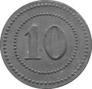 10 Pfennig - Langendreer (Zeche Mansfeld) – reverse