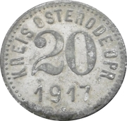 20 Pfennig - Osterode – obverse