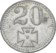 20 Pfennig - Osterode – reverse