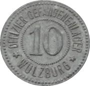 10 Pfennig - Wülzburg (Offizier Gefangenenlager) – obverse