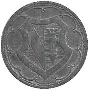 50 Pfennig - Ettlingen – reverse