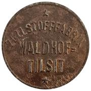 10 Pfennig - Waldhof (Zellstofffabrik) -  obverse