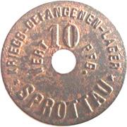 10 Pfennig (Sprottau) [POW, Schlesien] – obverse