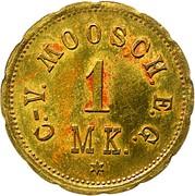1 Mark (Moosch) [Private, Elsaß-Lothringen, C.-V. Moosch, E.G.] – obverse