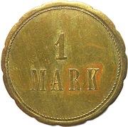 1 Mark (Moosch) [Private, Elsaß-Lothringen, C.-V. Moosch, E.G.] – reverse