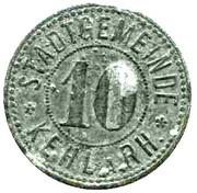 10 Pfennig (Kehl am Rhein) [Stadt, Baden] – obverse