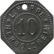 10 Pfennig - Herbolzheim (L. Heppe) – obverse
