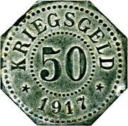 50 Pfennig (Saarburg in Lothringen) [Stadt, Lothringen] – reverse