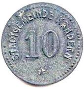 10 Pfennig (Kandern) [Stadt, Baden] – obverse