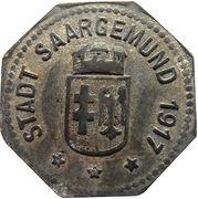 10 Pfennig (Saargemünd) [Stadt, Lothringen] -  obverse