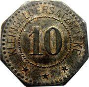 10 Pfennig (Saargemünd) [Stadt, Lothringen] – reverse