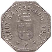 5 Pfennig (Saargemünd) [Stadt, Lothringen] – obverse