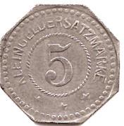 5 Pfennig (Saargemünd) [Stadt, Lothringen] -  reverse