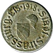 5 Pfennig (Strassburg) [Stadt, Elsass] -  obverse