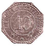 10 Pfennig (Forbach) [Stadt, Lothringen] – obverse