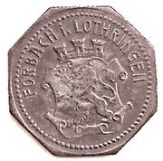 10 Pfennig (Forbach) [Stadt, Lothringen] -  reverse