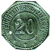 20 Pfennig (Buchsweiler) [Stadt, Unter-Elsaß] – reverse