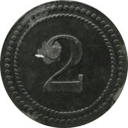 2 Pfennig - Eichstätt (Gefangenenlager) – reverse