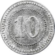 10 Pfennig - Massen (Zeche Massen) – reverse