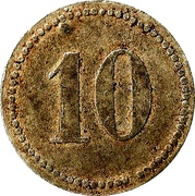 10 Pfennig - Puchheim (Kriegsgefangenenlager) – reverse