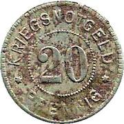 20 Pfennig (Emmendingen) [Stadt, Baden] – reverse