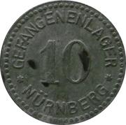 10 Pfennig - Nürnberg (Gefangenenlager) – obverse