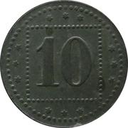 10 Pfennig - Nürnberg (Gefangenenlager) – reverse