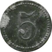 5 Pfennig - Puchheim (Kriegsgefangenenlager) – reverse