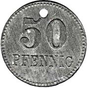 50 Pfennig (Neustadt im Schwarzwald) [Stadt, Baden] – reverse