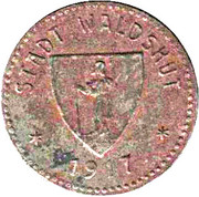 10 Pfennig (Waldshut) [Stadt, Baden] – obverse