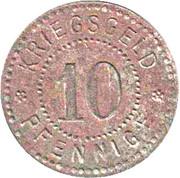 10 Pfennig (Waldshut) [Stadt, Baden] – reverse