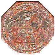 10 Pfennig (St Georgen im Schwarzwald) [Stadt, Baden] – reverse