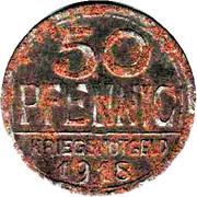 50 Pfennig (Offenburg) [Stadt, Baden] – reverse
