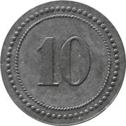 10 Pfennig - Schüren (Zeche Freie Vogel) – reverse