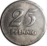 25 Pfennig (Mannheim) [Stadt, Baden] – reverse