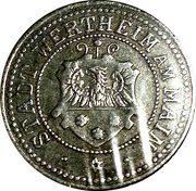 50 Pfennig (Wertheim am Main) [Stadt, Baden] – obverse