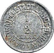 ½ Mark (Landsberg am Warthe) [Stadt, Brandenburg] – obverse