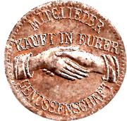 10 Pfennig (Arzberg) [Private, Bayern, Konsum-Verein] – obverse
