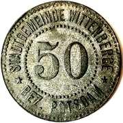 50 Pfennig (Wittenberge) [Stadtgemeinde, Brandenburg] – obverse